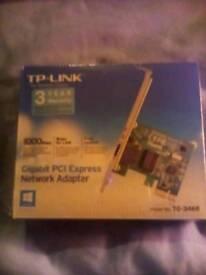 Gigabit Network Adapter. New & Boxed.
