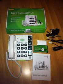 Telephone home care secure plus