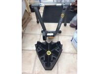 cycleops trainer with xtra riser block and quick release skewer