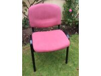 Premier Deluxe Quality CHAIR - Upholstered Soft Feel Fabric - Only 1 Left. - Brand NEW.