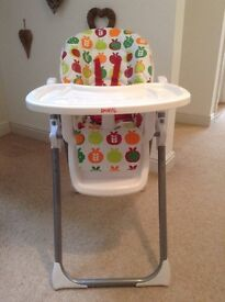REDKITE HIGHCHAIR - LIKE NEW (GT GRANDPARENTS OWNED IT FOR GRANDSON)