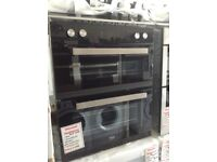 Bell 72cm intergrated double oven £299. New/graded 12 month gtee