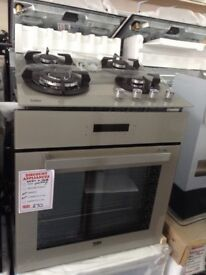 Beko intergrated single oven and hob package. £270 new/graded 12 month Gtee