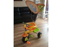 Smart Trike- Dinosaur/Yellow/Green/Orange- Boy/Girl/Unisex