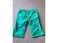 2 pairs boys shorts. 8-9 years 134cm.