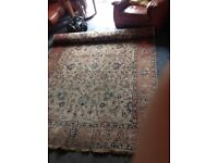 Persian carpet hand woven approximate size 10'x7'