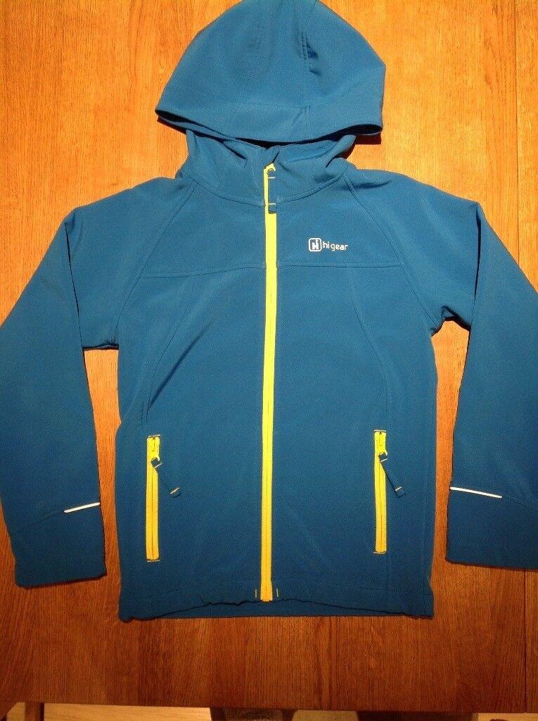 Boys HiGear soft shell jacket aged 9-10 years