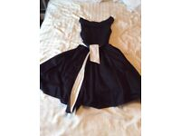 Principles Size 10 1950 style Black dress