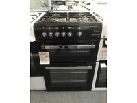 Flavel Milano G60 black gas cooker. £329 new/graded 12 month Gtee