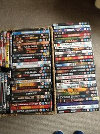 Over 60 DVD's