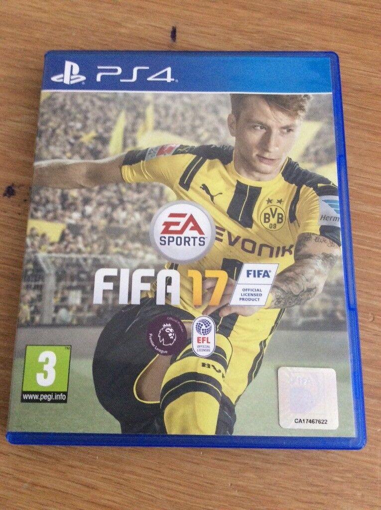 Fifa 17 PlayStation 4 Game