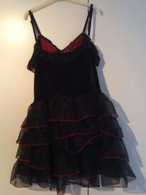 Dark Star punk dress size uk 10