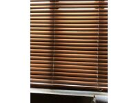 Wooden Blinds various sizes in good condition ex Fultons