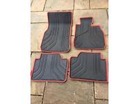 BMW 3 series rubber Car mats