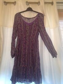 Peasant style dress size 12