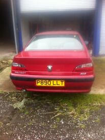 Peugeot 406 1.9 Dturbo XUD Non Starter, Mot now expired
