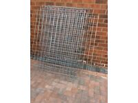 4ft 5 inch x 33 inch galvanised mesh sheets