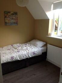 Fully furnished single room in large shared house