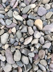 Multi mix garden and driveway chips/stones