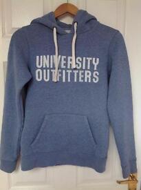 Jack Wills blue hoodie. Size 8