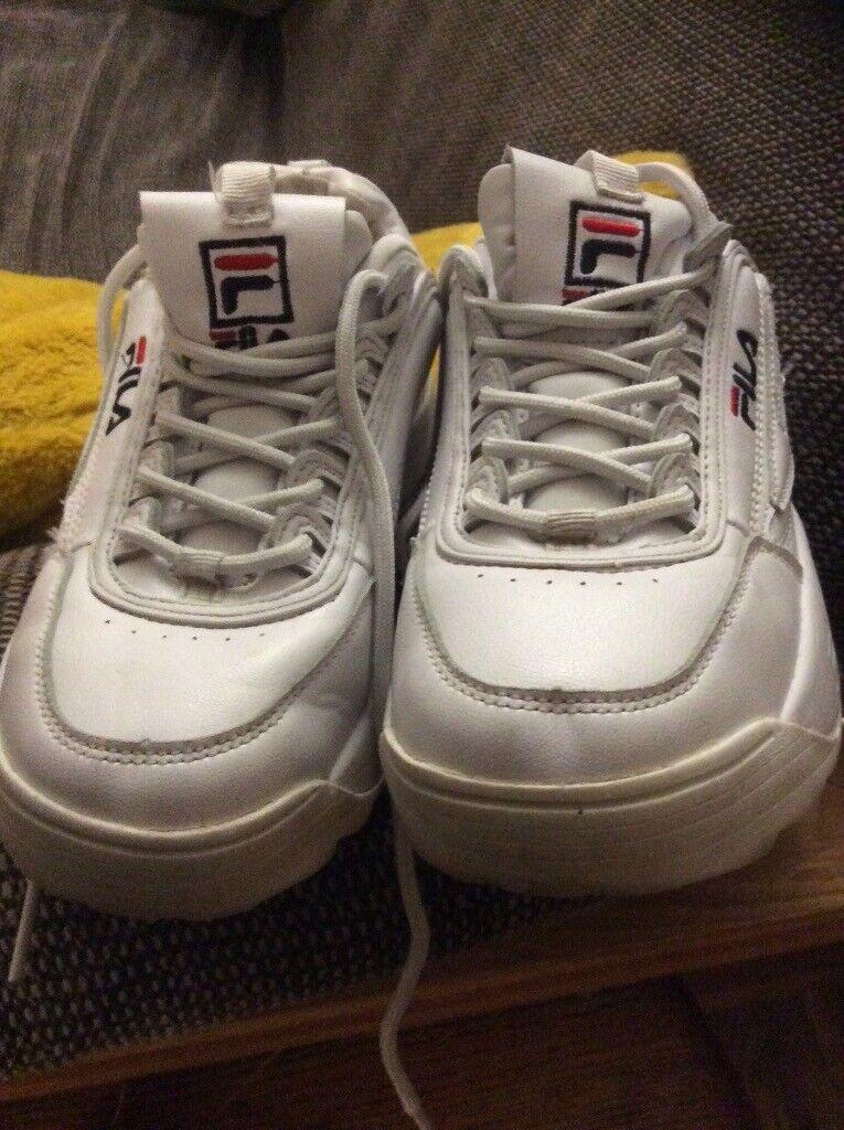 3c6877d16a89 Fila trainers size 37