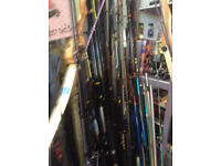 fishing tackle for sale , rods , reels , tackle etc etc