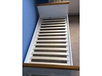 Mothercare Summeroak cot bed from smoke~/pet-free home