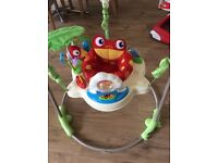 Fisherprice Rainforest Jumparoo barely used in excellent condition. Retails at £119.99 only £65