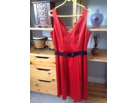 Red dress. Ideal for wedding, party or school prom