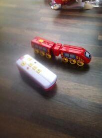 Brio remote control express train