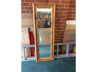 Large Long Pine Mirror