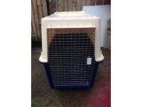 Dog cage/crate/kennel airline approved huge 45inches long