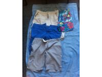 "3 x summer 34"" Men's shorts / 1 x XL Calvin Klein swimming shorts"