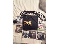 Playstation 3 160gb - controller and 6 games - used but still works perfectly!