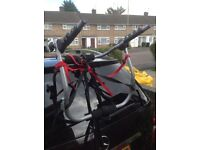Cycle carrier for car