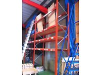 DEXION P90 INDUSTRIAL COMMERCIAL WAREHOUSE LONGSPAN PALLET RACKING UNIT BAY