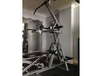 Weight machine with Olympic wieghts