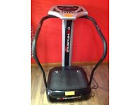 Confidence vibration plate hardly used