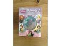 Disney princess books and cd