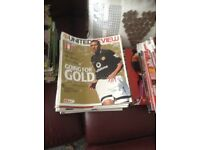 Job Lot Man United Football Programmes Ex Cond Home Matches 89-08