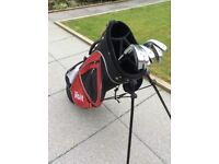 Voit Golf bag and irons