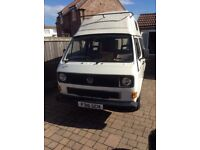 Vw t25 campervan 1988 in superb condition, mot May 2919 1.6 turbo diesel 128,000 miles, ex. cond.