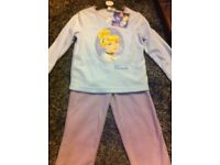Brand new with tags Cinderella pjs age 2-3, 3-4 and 5-6