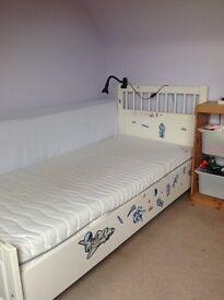 Single ikea bed hemnes £40 ono
