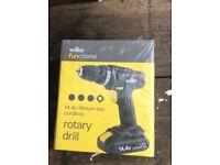 Rotary drill 14.4v cordless new