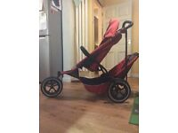 Phil&teds double buggy ( sport edition red)