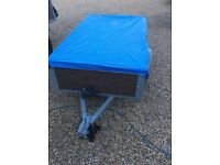 5ft by 3ft trailer ideal for boot sales or takeing rubbish to the dump £125