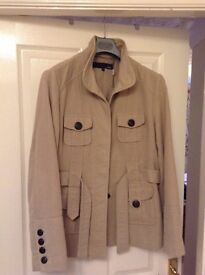 Ladies Cream/light taupe jacket from next size 18