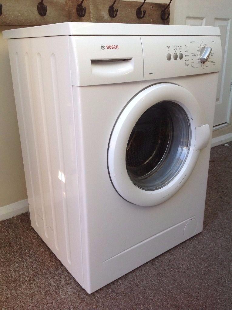 bosch 1400 washing machine