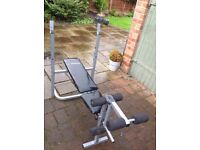 New weights bench